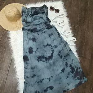 Gypsy 05 Silk Tie Dye Maxi Dress